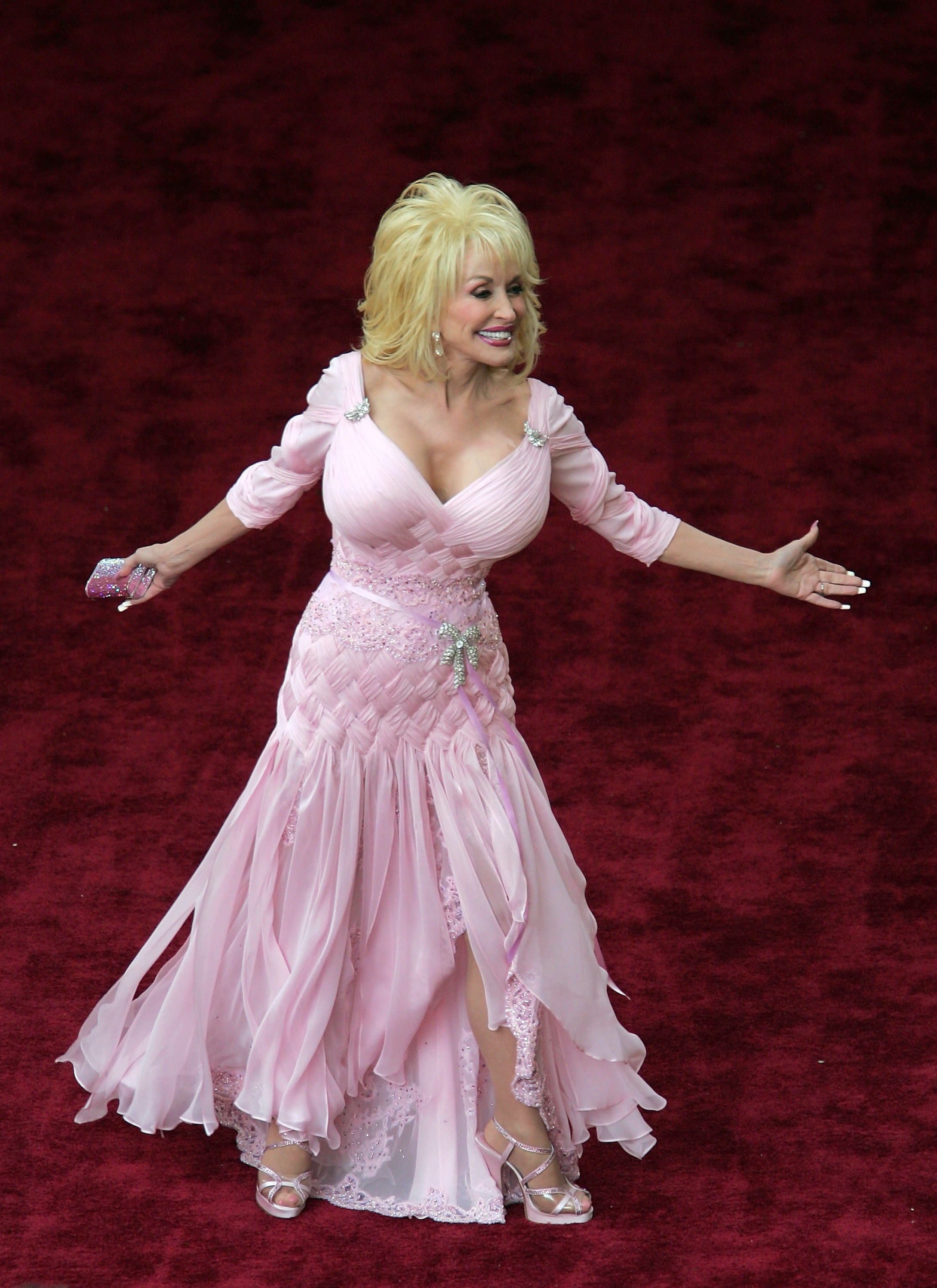 dolly parton cleavage photo