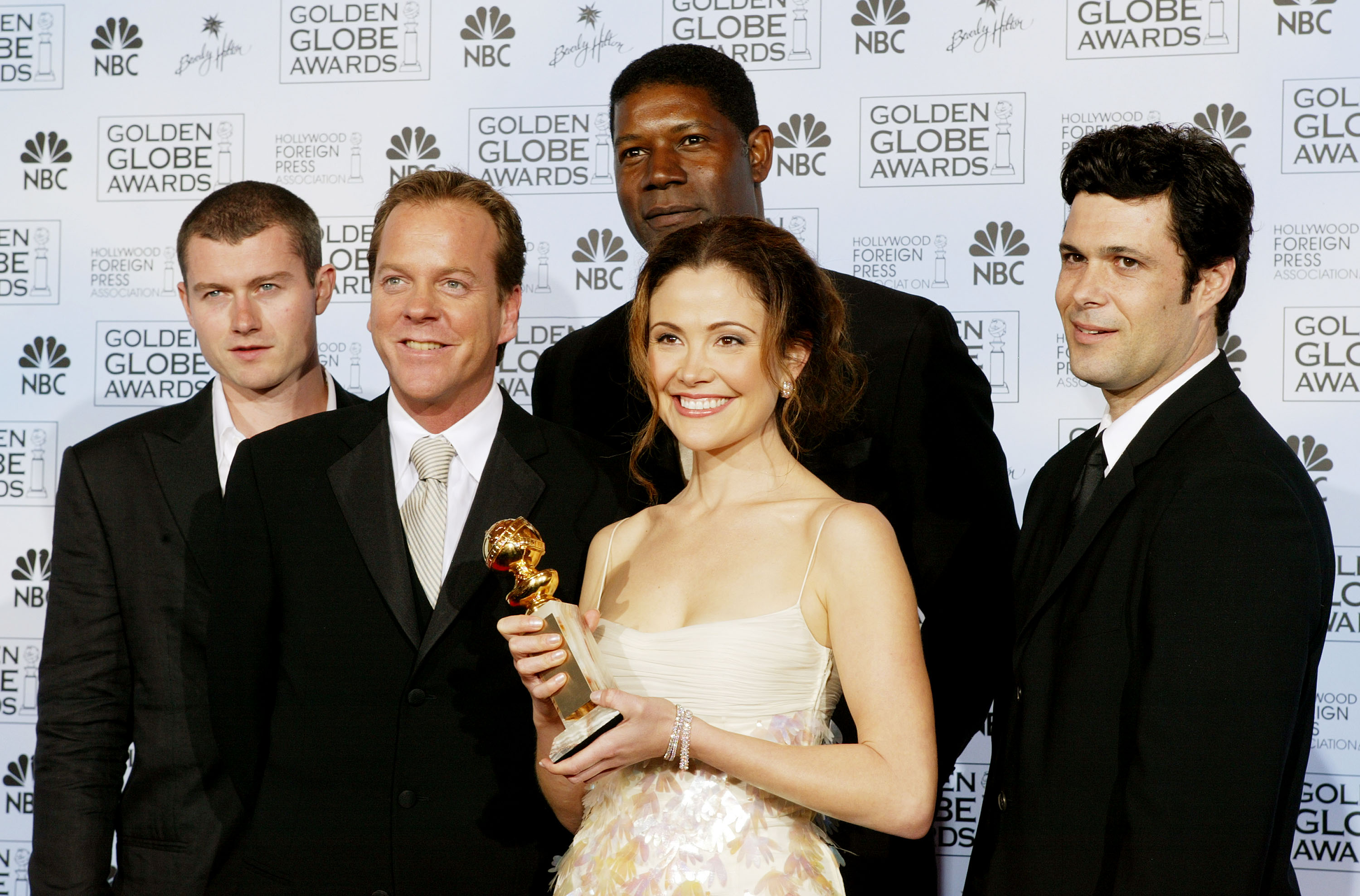 Keifer Sutherland golden globe photo