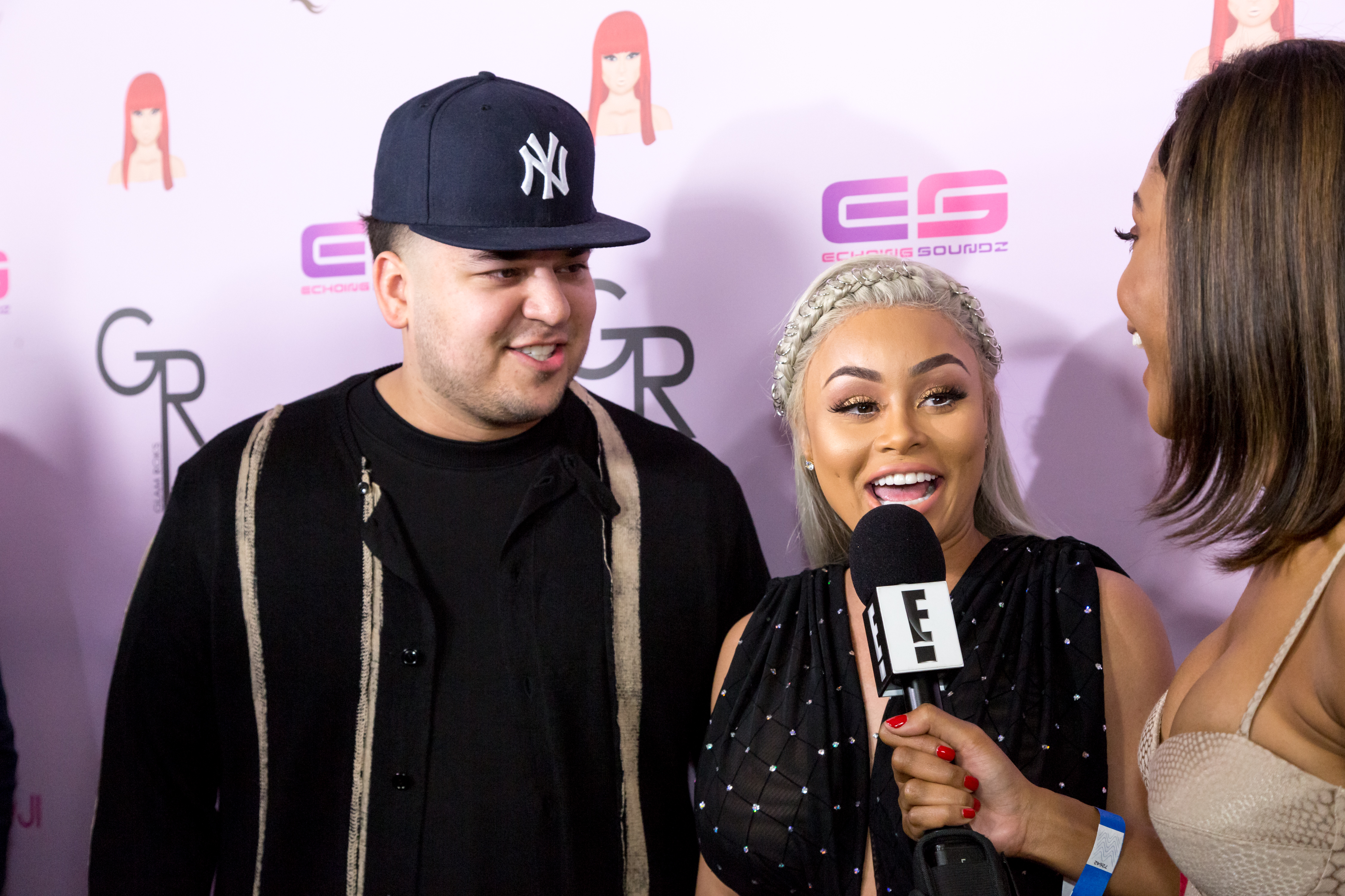 blac chyna rob kardashian photo