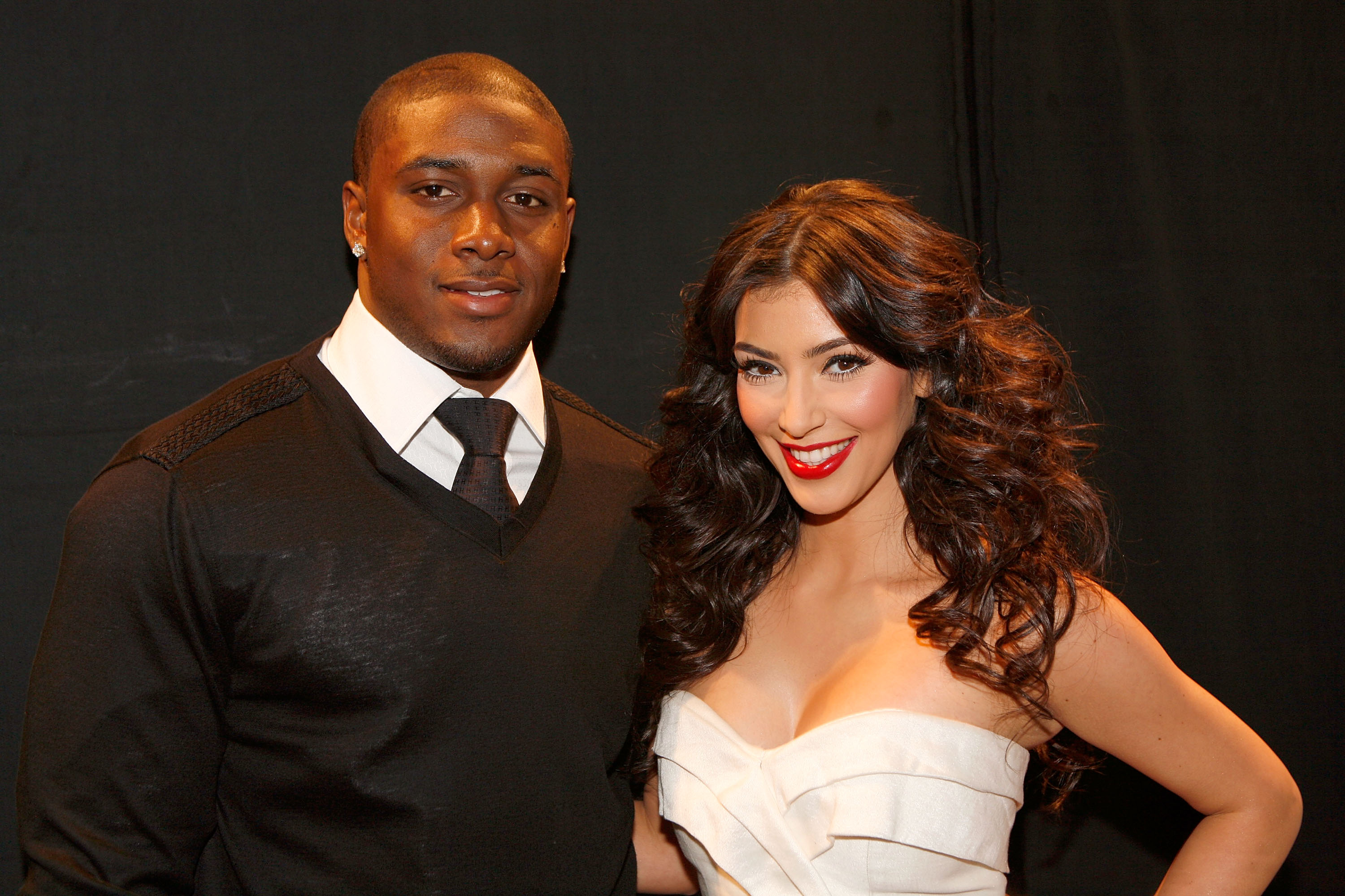 reggie bush kim kardashian photo