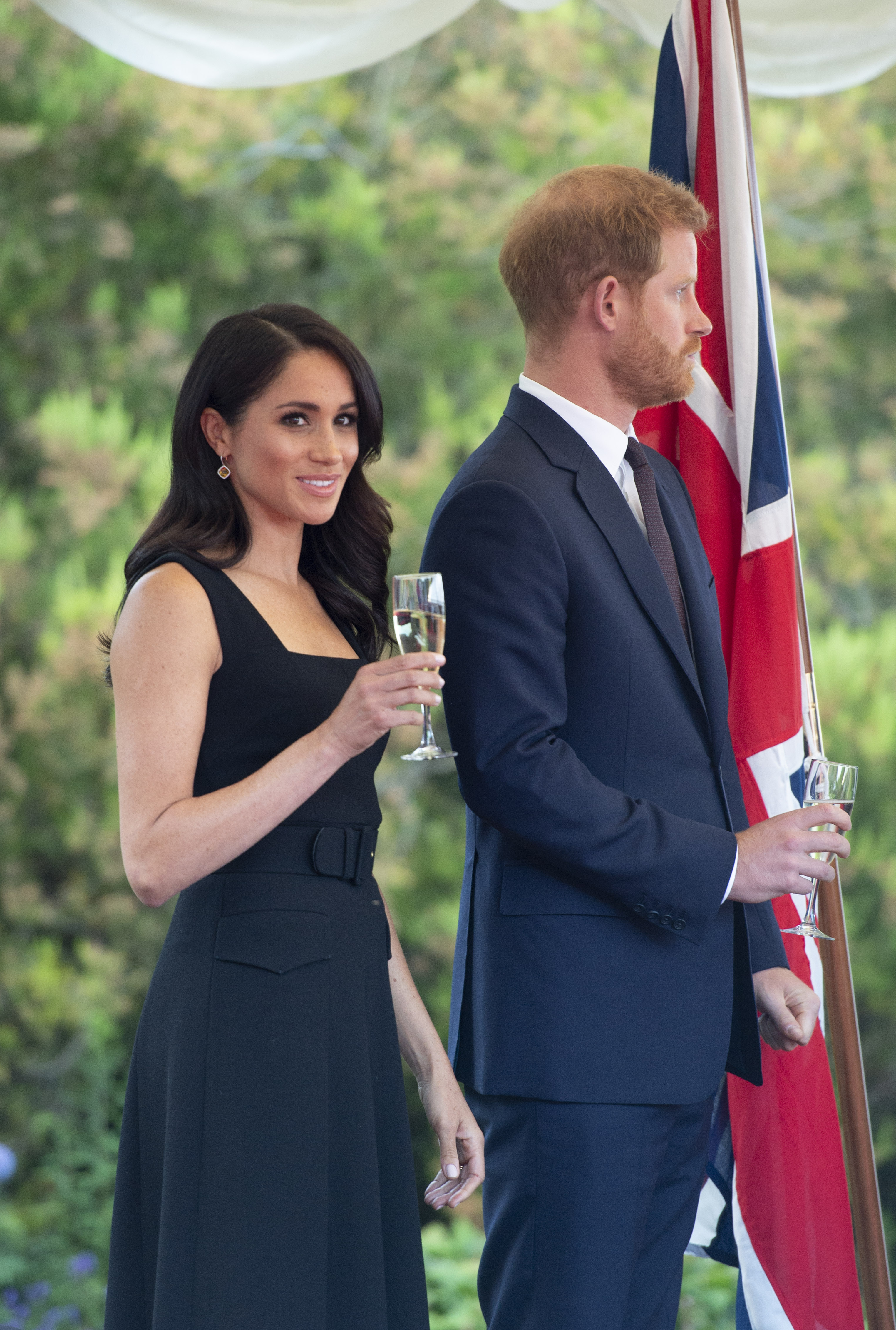 meghan harry party photo